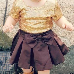 Baby/ Toddler Like-Satin Gap Skirt